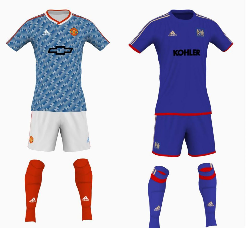 what makes a great manchester united kit away edition american red devils manchester united podcast what makes a great manchester united