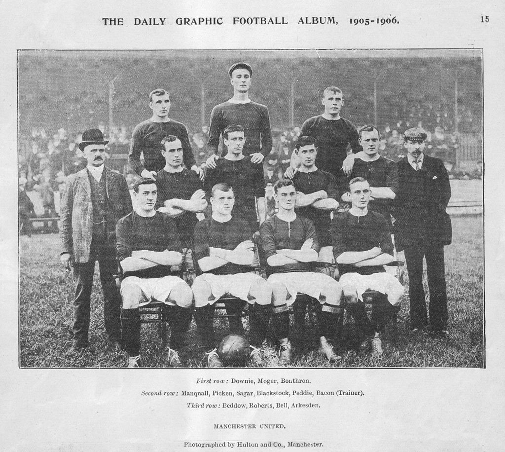 Manchester United squad picture 1905-1906
