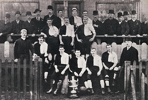 Manchester United history, Newton Heath squad picture 1888