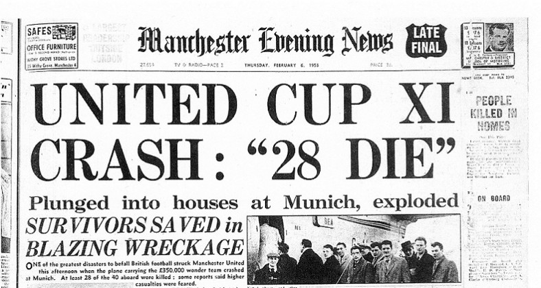 Manchester United history, the munich air disaster