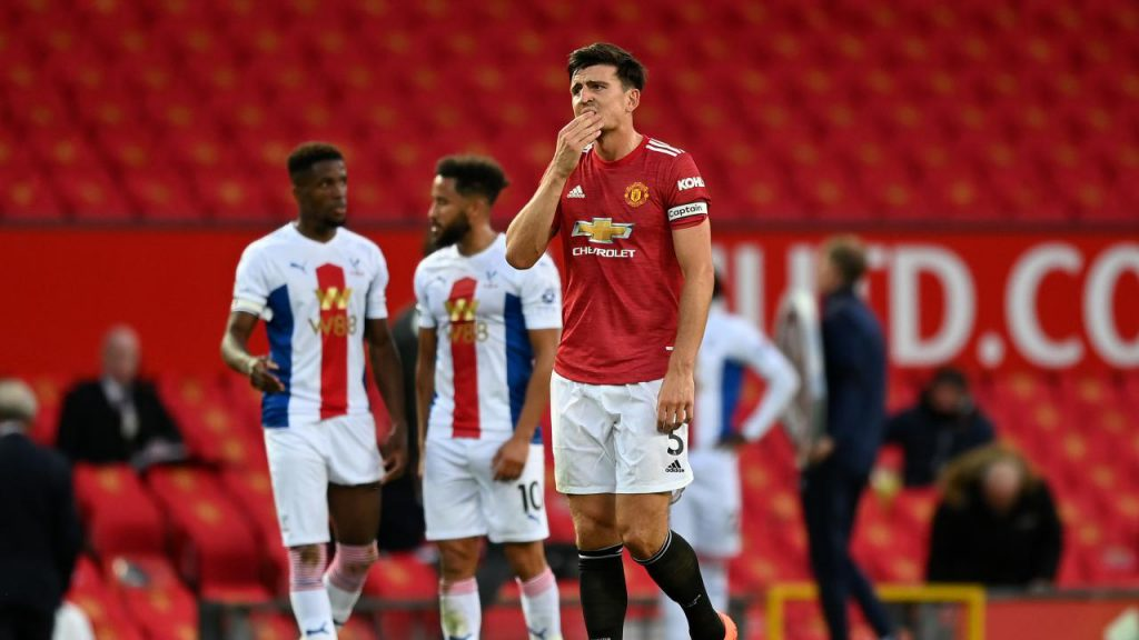 Harry Maguire worried about United's shaky defense.
